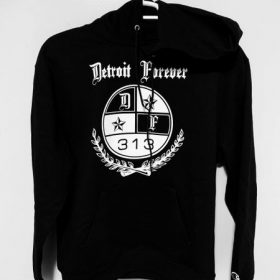 Detroit 313 black and white