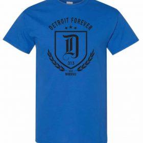 d tee blue